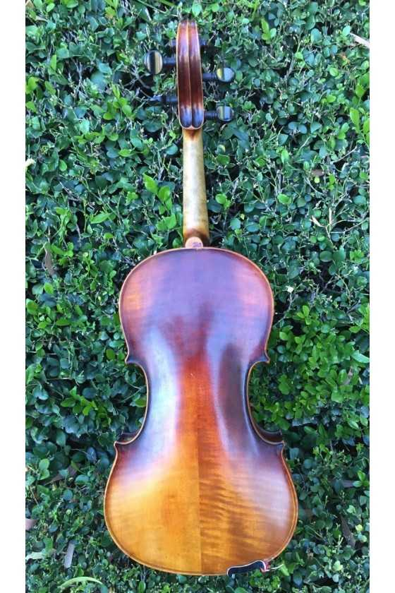 Manby Violin with Fretted Fingerboard