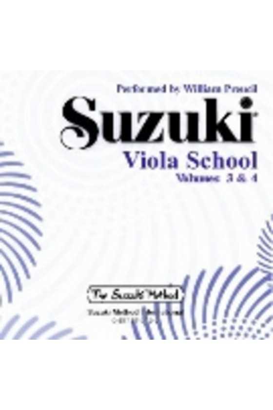 Suzuki Viola CD