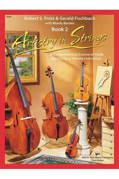Artistry In Strings Violin Bk 2