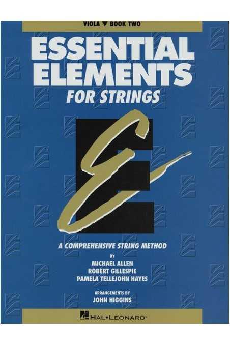 Essential Elements Viola Bk 2- old book