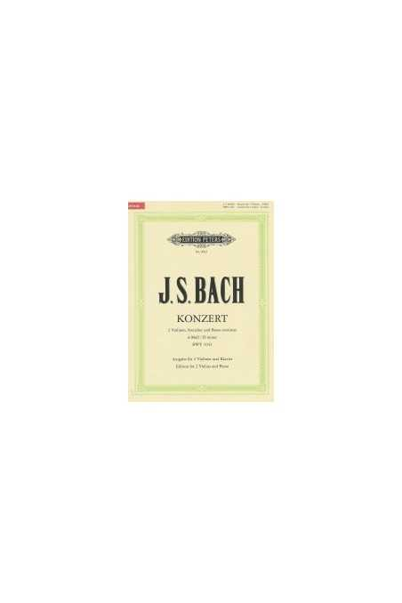 Bach Concerto for 2 Violins in D minor (Peters)