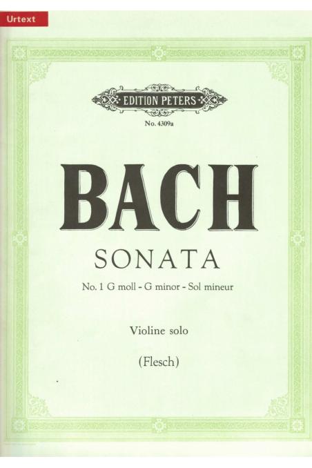 Bach sonata in G minor for solo violin (Edition Peters)