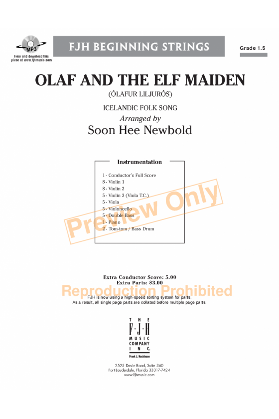 Olaf and the Elf Maiden by Soon Hee Newbold