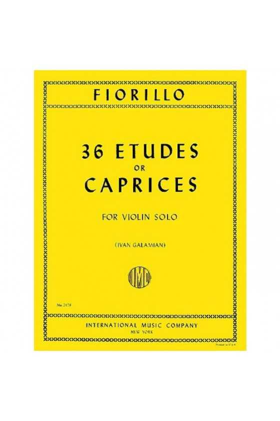 Fiorillo, 36 Etudes or Caprices for Violin (IMC)