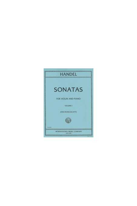 Handel, Sonatas for Violin & Piano Vl 1 (IMC)