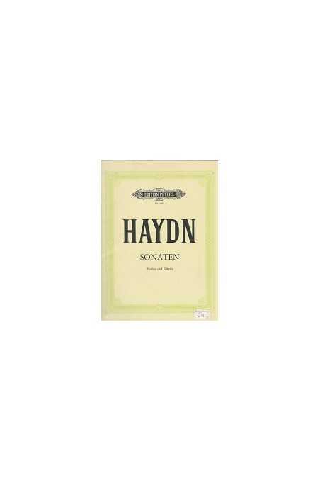 Haydn, Sonatas for Violin and Piano (Peters)