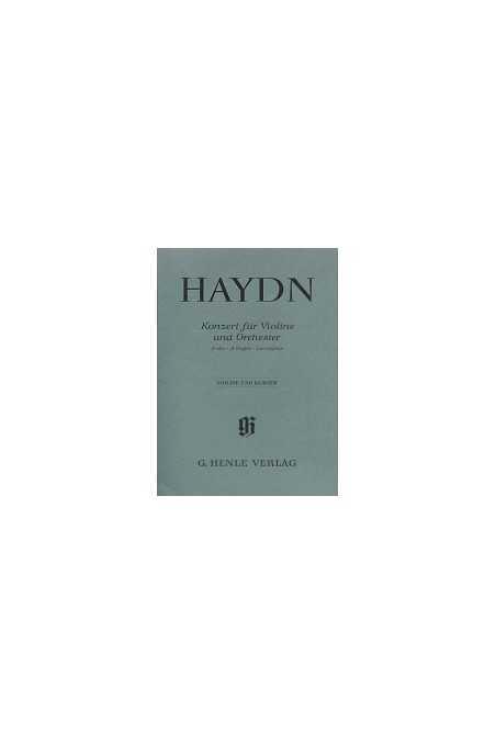 Haydn, Violin Concerto in A (Henle)