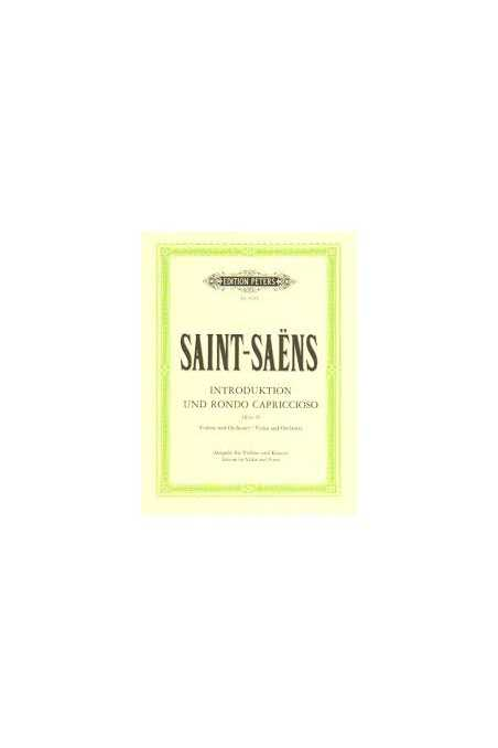 Saint Saens Introduction and Rondo Capriccioso for Violin (Peters)