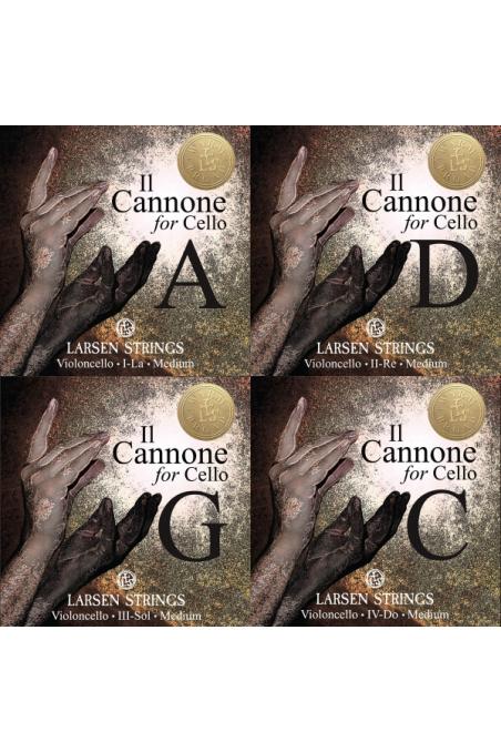Larsen Il Cannone Cello Set - Warm and Broad