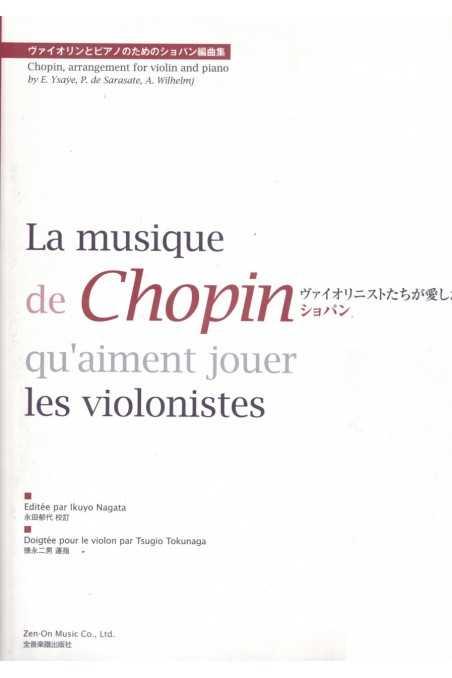 Chopin, Beloved Violinists Play