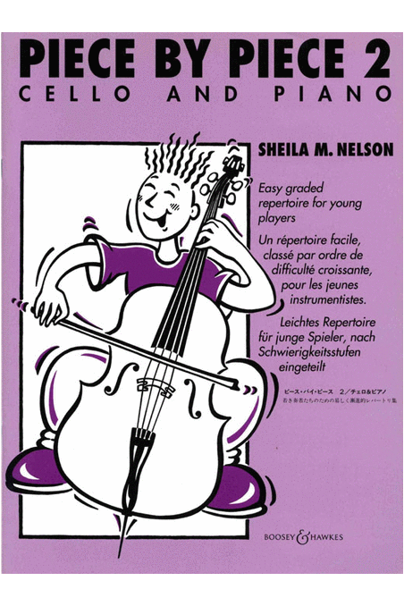 Nelson, Piece by Piece 2 for Cello and piano