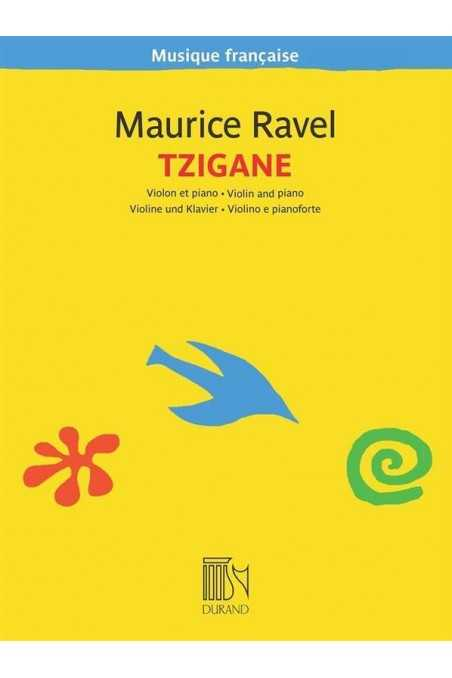 Ravel, Tzigane for Violin (Durand)