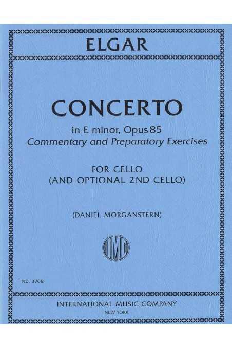 Elgar, Concerto in E Minor Op 85 for Cello and Optional 2nd Cello (IMC)
