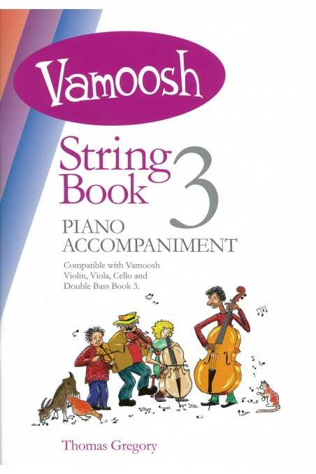 Vamoosh String Piano Accompaniment Book 3