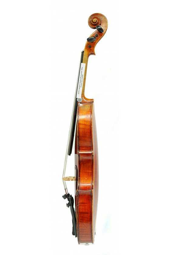 Violin Labelled Andrea Postacchini 1854 Fermo, Italy