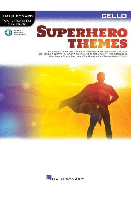 Superhero Themes Instrumental Play-Along for Cello
