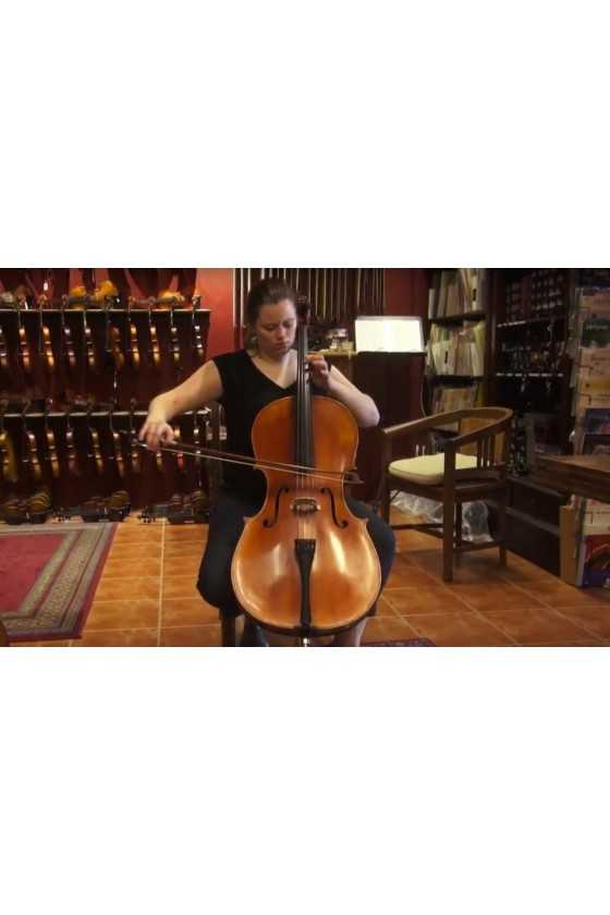 Cello by Rene Jacquemin