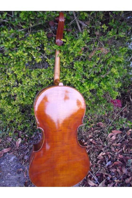 French cello made by Jurg Leibacher
