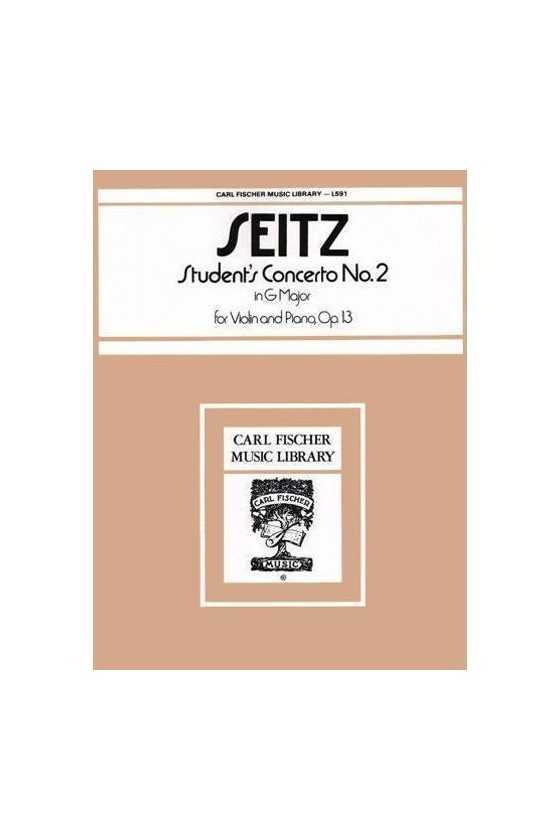 Seitz, Student Concerto...