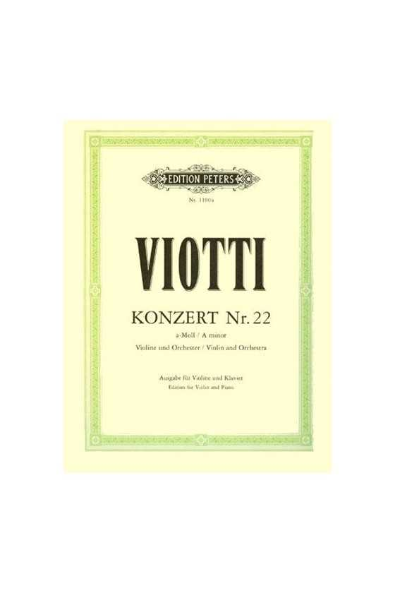 Viotti Concerto No. 22 In A...