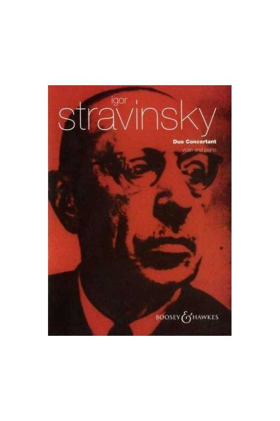 Stravinsky Duo Concertant...