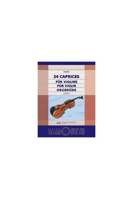 Rode, 24 Caprices for Violin Ed by Garay (EMB)