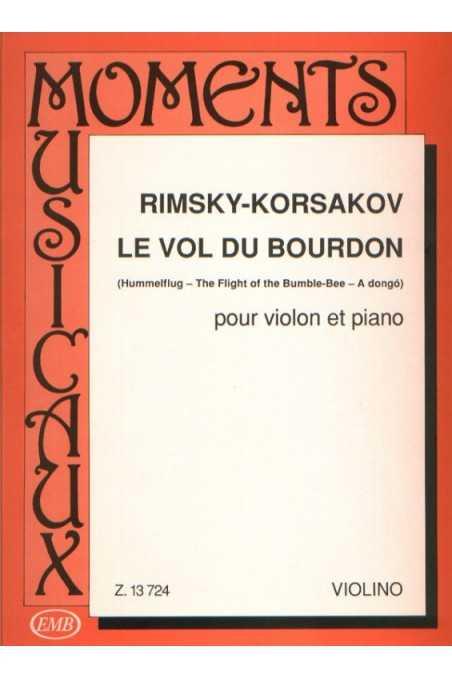 Rimsky-Korsakov Flight of the Bumble Bee for Violin & Piano (EMB)