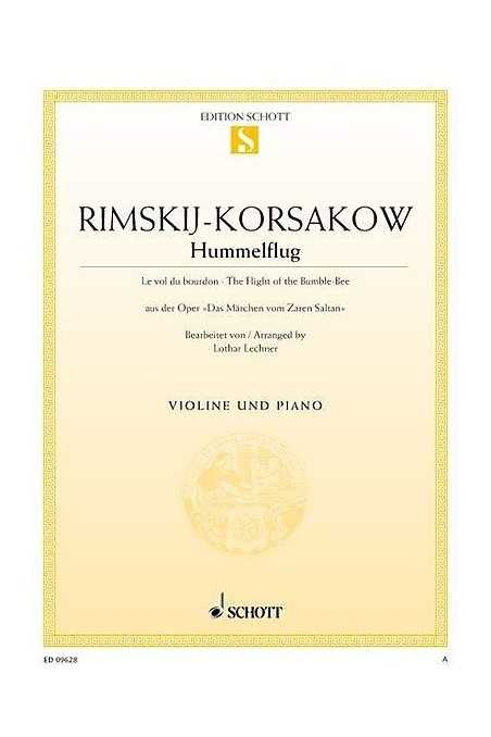 Rimsky-Korsakov, Flight of The Bumble Bee for Violin (Schott)