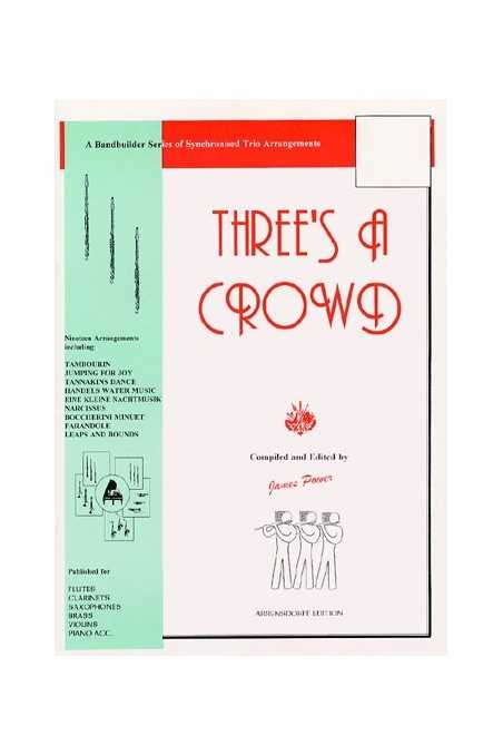 Power, Three's A Crowd Book 3 for Violin