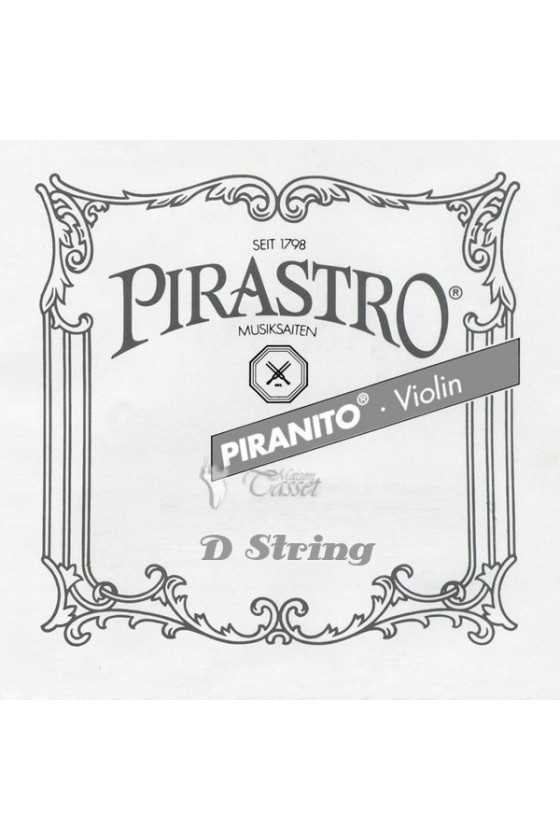 1/4 - 1/8 Piranito Violin D String
