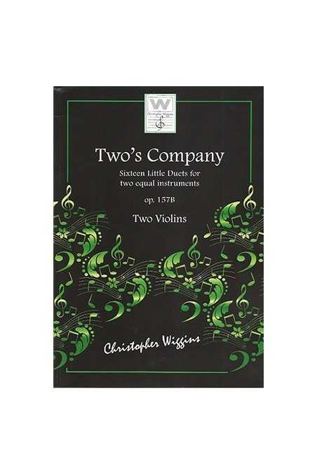 Two's Company Sixteen Little Duets For Two Equal Instruments