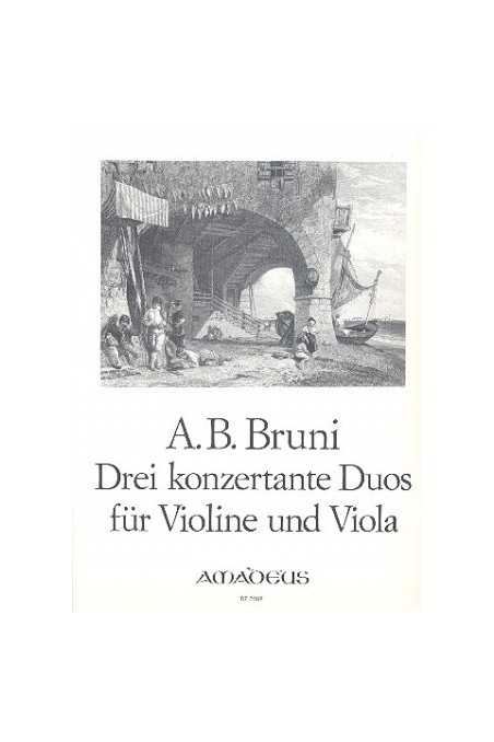 Bruni, Three Concert Duos For Violin And Viola