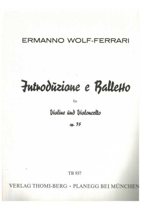 Introduzione e Balletto (Introduction And Rouge) Op. 35