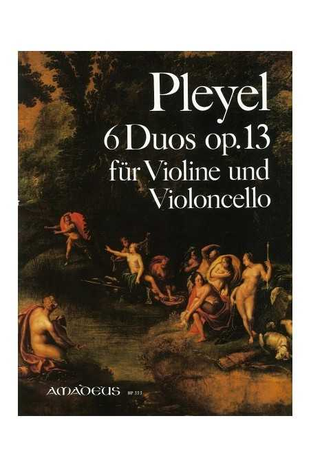 Pleyel, 6 Duos Op.13 For Violin And Cello