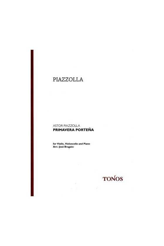 Piazzolla Primavera Portena...