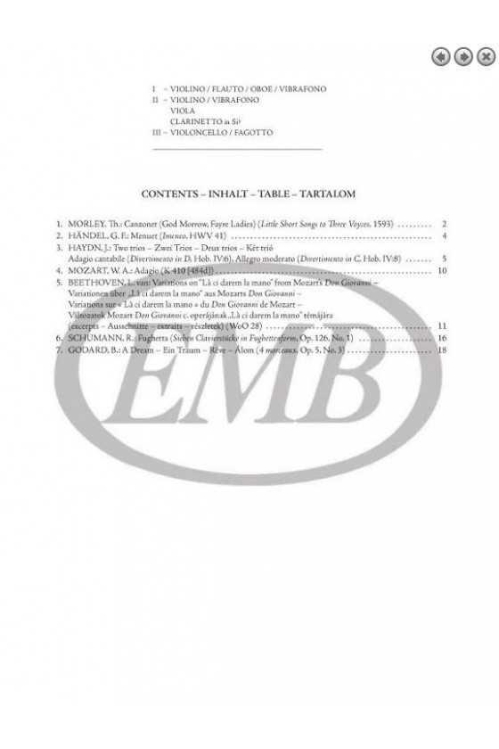 Advanced Level Trios (EMB)