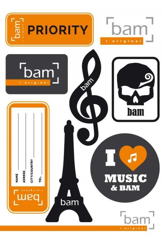 BAM Classic Stickers