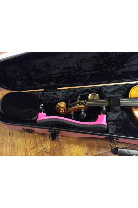 Pink Shaped Hightech Violin Case-Full Size