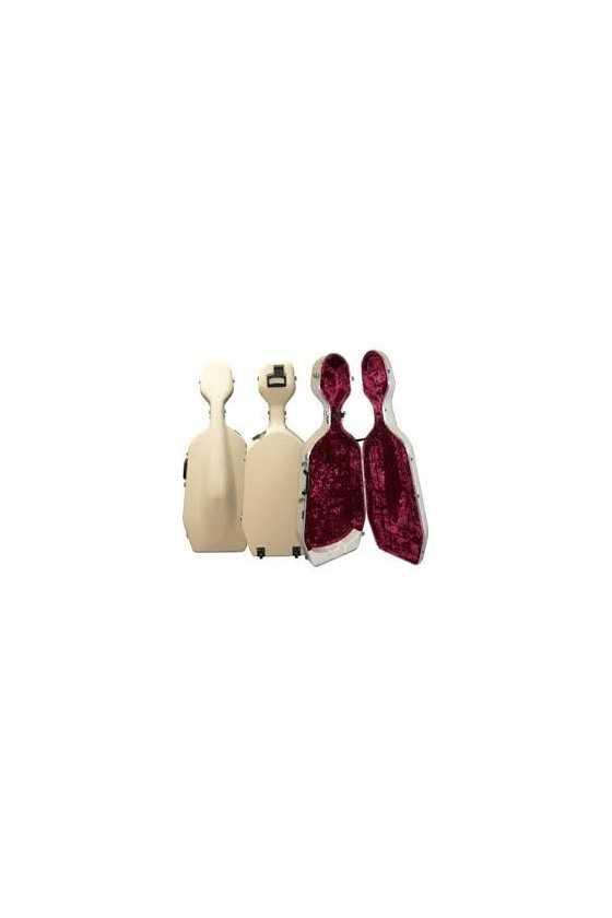 Hiscox England Standard Cello Case - Black Or Ivory