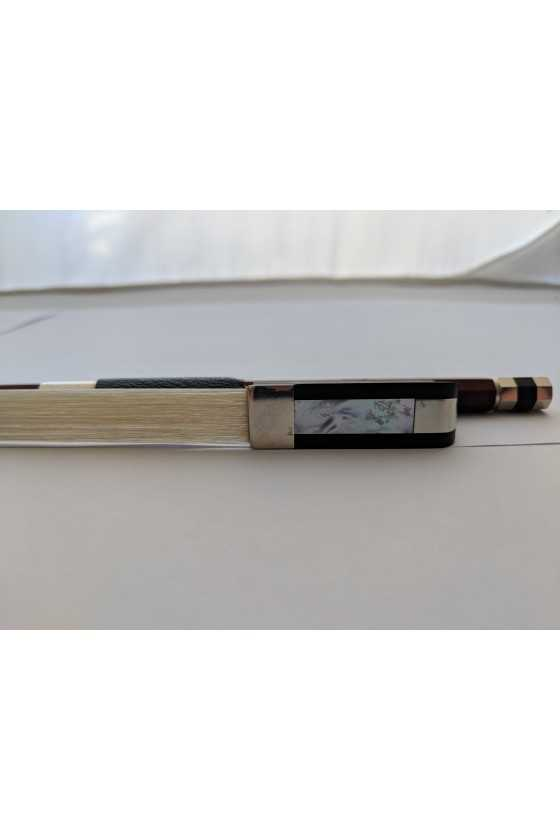 Dorfler Cello Bow - 9 Brazilwood - Nickel Silver