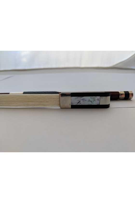 Dorfler Cello Bow - 9 Brazilwood - Nickel Silver