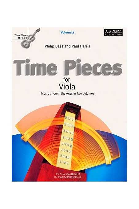 Time Pieces For Viola Vl 2 (ABRSM)