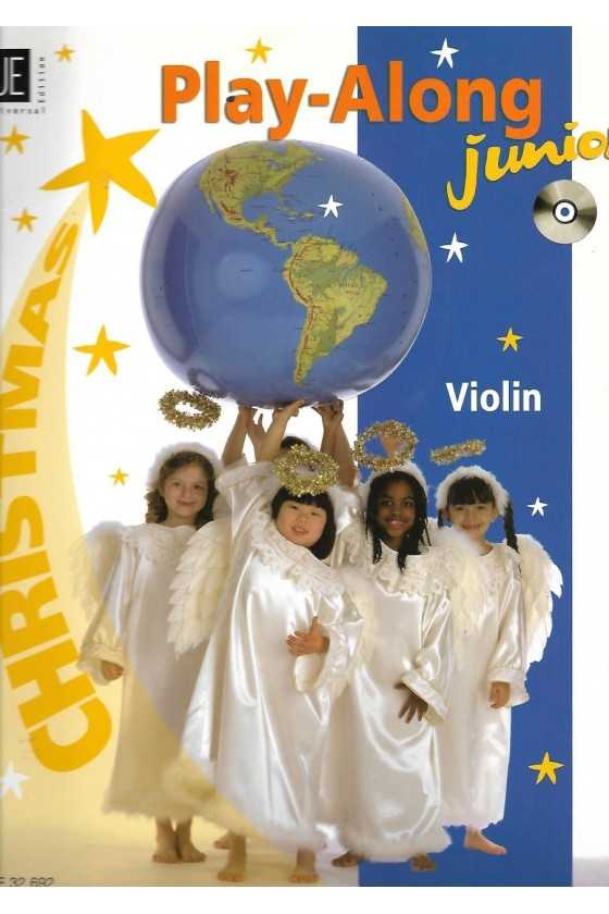 Play-along Junior for Christmas Violin Music with CD