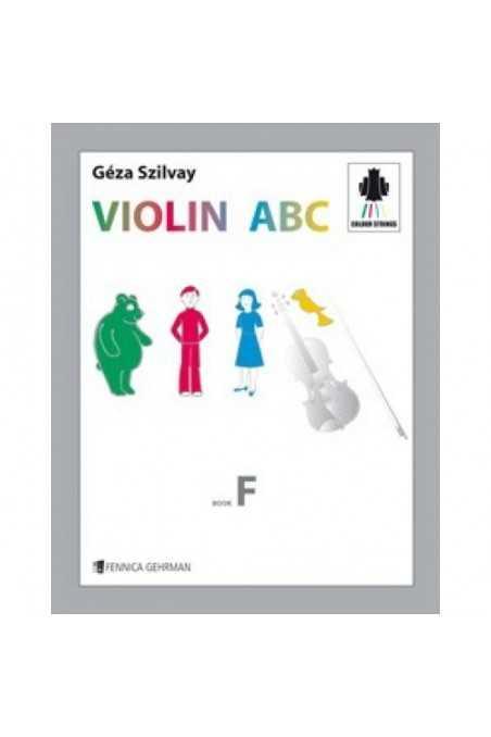 Colour Strings- Violin ABC Book F by Geza Szilvay