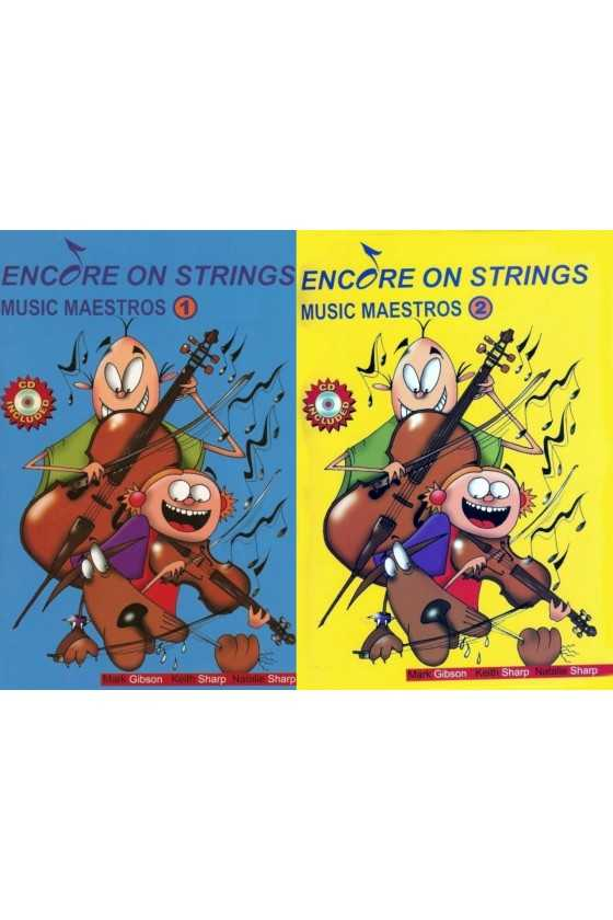 Encore on Strings Music Maestro Vol 1/2 for Violin