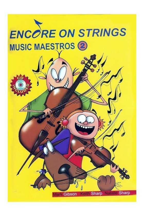 Encore on Strings Music Maestro Vol 1/2 for Viola
