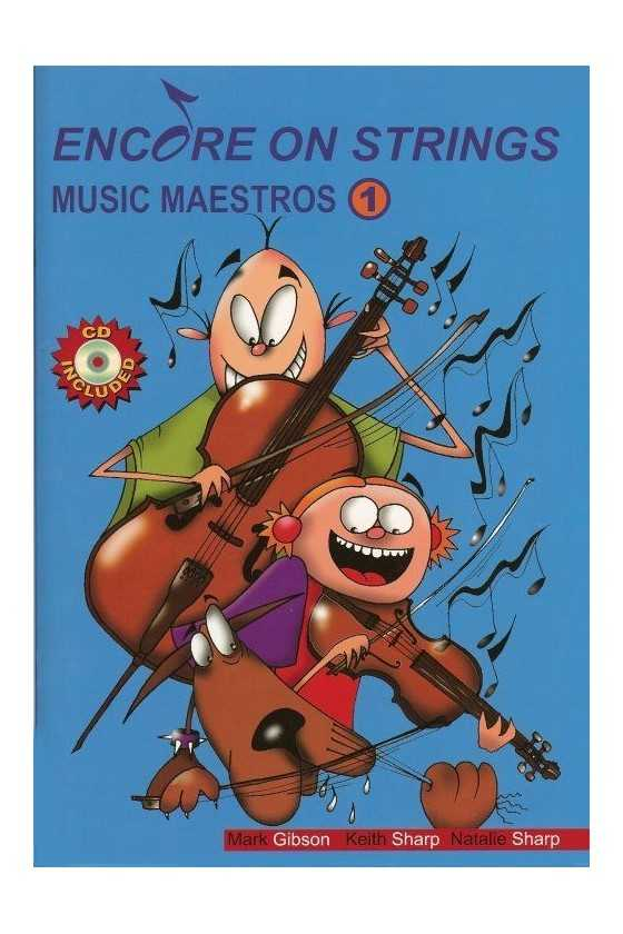 Encore on Strings Music Maestro Vol 1/2 for Cello