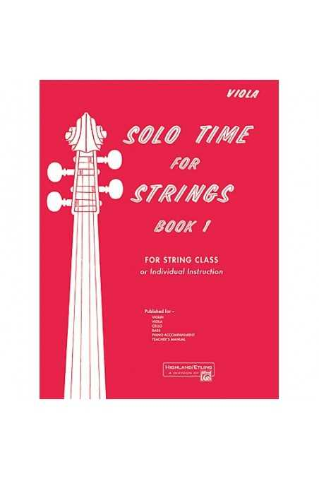 Solo Time for Strings Book 1 (Viola)