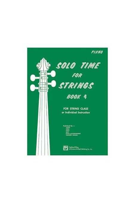 Solo Time for Strings Book 4 (Piano)