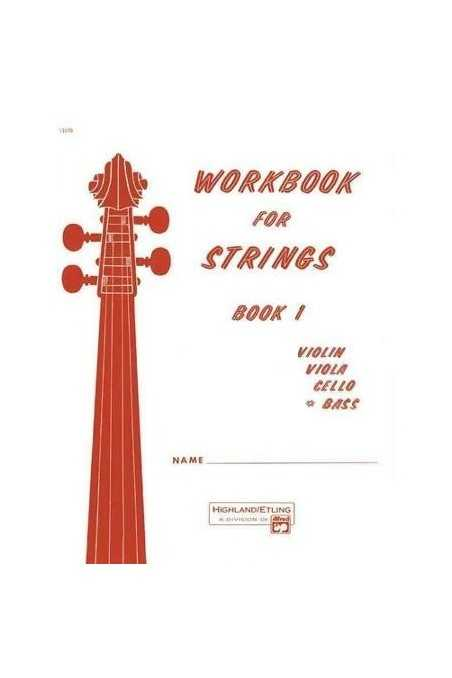 Workbook for Strings Book 1 (Bass)